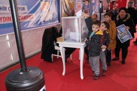 Aydın Büyükşehir,halk oylaması yaptı.