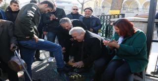'TOPUKLU EFE'YLE AYDIN'IN FATİH'İ'NE SEVGİ SELİ