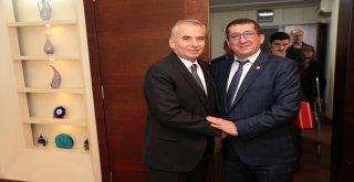 Acıpayamlı üreticilerden Başkan Osman Zolan'a ziyaret
