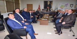 Başkan Kadir Albayrak Muhtarlar İle Bir Araya Geldi