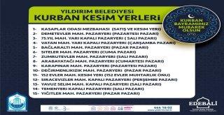 YILDIRIM BELEDİYESİ KURBAN BAYRAMI'NA HAZIR