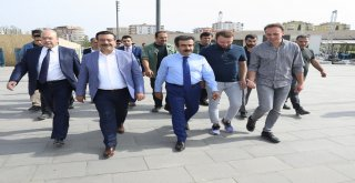 Başkan Atilla Gençlik Festivali Çalışmalarını İnceledi