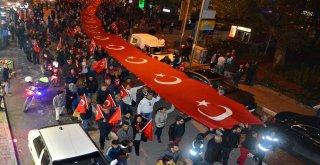 CUMHURİYET'İN YENİ YAŞI DOĞDUĞU KENTTE COŞKUYLA KUTLANDI