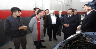 Başkan Atilla'dan otomotiv firmalarına ziyaret