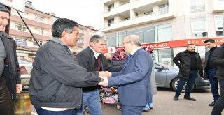 Başkan Kafaoğlu Savaştepe'de incelemelerde bulundu
