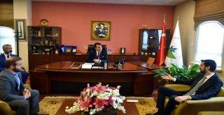MHP Osmangazi'den Dündar'a Tebrik Ziyareti