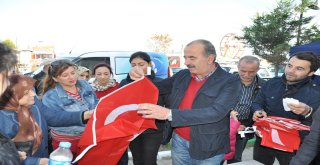"""BAŞKAN HAYRİ TÜRKYILMAZ,""""HER MAHALLEYE BİR BAYRAK DİKECEĞİZ"""""""