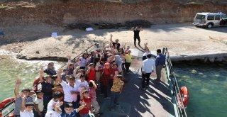 150 öğrenci Eğil'i gezdi
