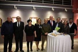 Kağıtta Açan Çiçekler Eskişehir'de sanatseverlerle buluştu