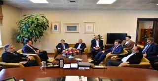 AK Parti Bursa Teşkilatından Başkan Dündar'a Hayırlı Olsun Ziyareti