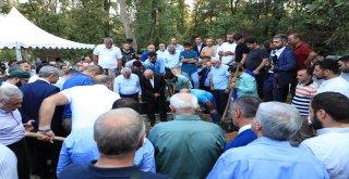 Başkan Hasan Can, AK Parti MKYK Üyesi ve İstanbul Milletvekili Mustafa Ataş'ın Vefat Eden Abisi Ali Ataş'ın Cenazesine Katıldı
