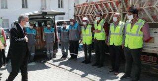 Büyükşehir'in Yardımeli Bu Kez Bozova'ya Uzandı