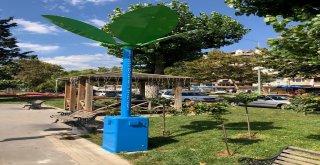 Tekirdağ Büyükşehir Belediyesinden Ücretsiz Güneş Enerjili Çevre Dostu Şarj İstasyonları