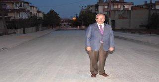 Başkan Albayrak Asfalt Yol Çalışmalarını İnceledi