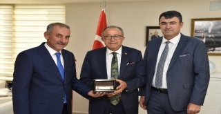 Türk Sağlık Sen'den Büyükşehir'e ziyaret