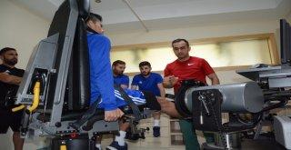 Manisa Büyükşehir Belediyespor'lu Futbolcular Cybex Testinden Geçti