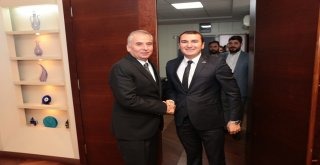 Başkan Osman Zolan'a Genç ASKON'dan ziyaret