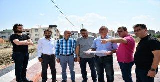Cumhuriyet Mahallesinde Otopark Ve Koruluk Düzenlemesi Başladı