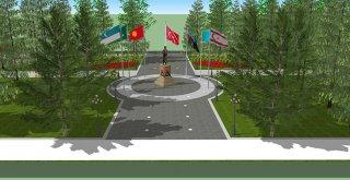 Bişkek'teki Atatürk Parkı'na sahip çıkılıyor