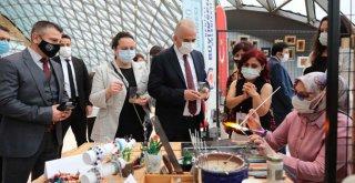 Denizli Büyükşehir Türk el sanatlarına sahip çıkmaya devam ediyor