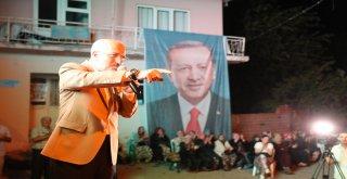 Balıkesir Büyükşehir Belediye Başkanı Zekai Kafaoğlu Altıeylül Belediye Başkanı Hasan Avcı ile birlikte Tayyipler Mahallesi'ni ziyaret etti.