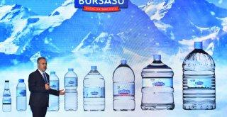 Büyükşehir'in yeni markası 'Bursa Su'