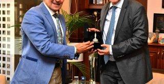 Slovenya Ankara Büyükelçisi Soyer'i ziyaret etti