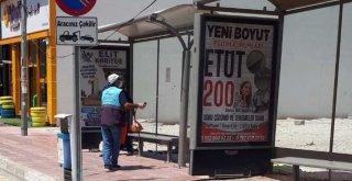 VAN'DA TÜM DURAKLAR DEZENFEKTE EDİLDİ