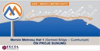 Mersin'e Metro Geliyor