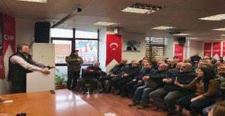 Başkan Kılıç CHP İlçe Örgütü ile yeni yılı kutladı