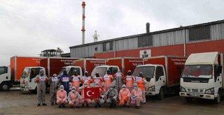 Covid-19 şüphelisi tıbbi atıkları İZAYDAŞ bertaraf ediyor