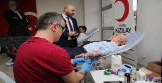 Nilüfer Belediyesi çalışanlarından kök hücre ve kan bağışı