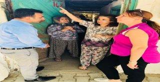 Talip Akbaş Sosyal Doku Ekibiyle Buluştu