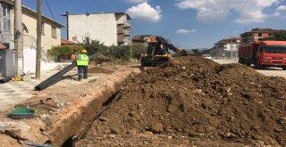 Atatürk Mahallesi'nde Kanalizasyon Çalışması