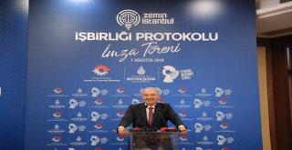 İBB, 'ZEMİN İSTANBUL' İÇİN TÜRKİYE'NİN ÖNDE GELEN ÜÇ ÜNİVERSİTESİ İLE PROTOKOL İMZALADI