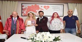 Başkan Albayrak Ceyda ve Fırat Çiftinin Nikahını Kıydı