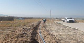 Caberburhan Mezarlığı'na Yeni İçme Suyu Hattı