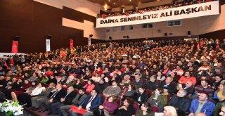 Ali Kılıç belediye çalışanlarıyla buluştu