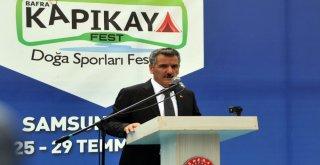 Samsun'da Kapıkaya Fest Heyecanı Başladı