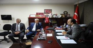 Bozbey, MHP Bursa İl Başkanlığı'nı ziyaret etti