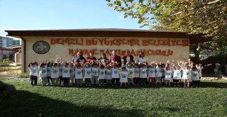 Büyükşehir'den çocuklara çevre eğitimi