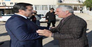 Başkan Atilla'dan Çermik İlçemize ziyaret