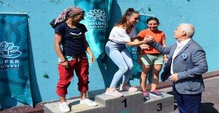 Tırmanma yarışlarında ödüller sahiplerini buldu