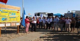 Susanoğlu'nun Mavi Bayrağı Göndere Çekildi