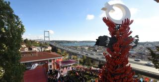 Beşiktaş Cumhuriyet Demokrasi ve Şehitler Anıtı Açıldı!