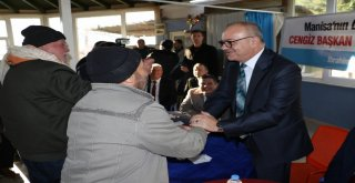 Başkan Ergün, Koldere'de Coşkuyla Karşılandı
