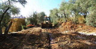 Yatağan'da 300 Hane Kanalizasyon Hattına Kavuşuyor