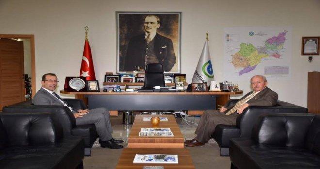 Çevre ve Şehircilik İl Müdürü Ömer Albayrak'tan Ziyaret