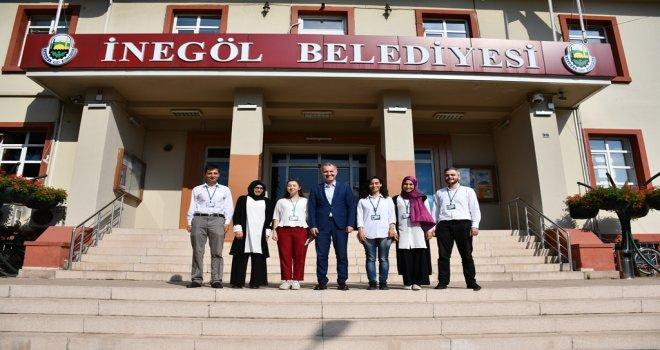 İnegöl Belediyesi, Şehri Vatandaşla Birlikte Yönetiyor