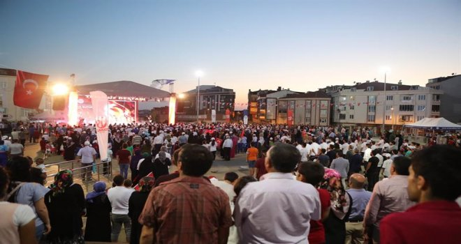 15 Temmuz Destanı Arnavutköy'de Anıldı